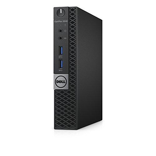 DELL OptiPlex 3040 3,2 GHz Intel® Core™ i3 der sechsten Generation i3-6100T Schwarz Mini PC Mini-PC - PCs/Workstations (3,2 GHz, Intel® Core™ i3 der sechsten Generation, i3-6100T, 4 GB, 500 GB, Windows 7 Professional)