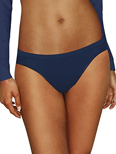 Hanes Women's Comfort Flex Fit Microfiber Bikini Underwear, 6-Pack