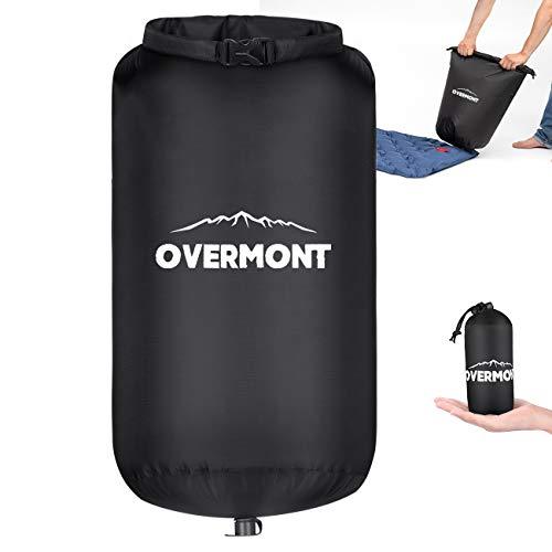 Overmont Pump Sack zur Isomatten Ultralight Mehrzweck wasserdicht