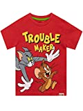 TOM and JERRY Boys' Cartoon T-Shirt Size 2T Red
