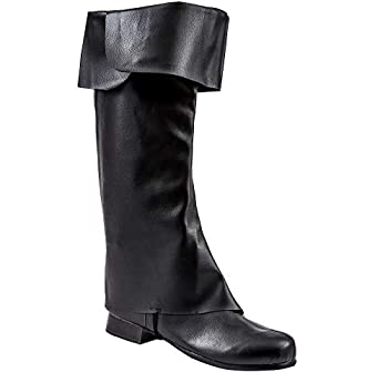 Amscan 841745 Classic Pirate Boot Toppers Adult Standard Size 1 Piece