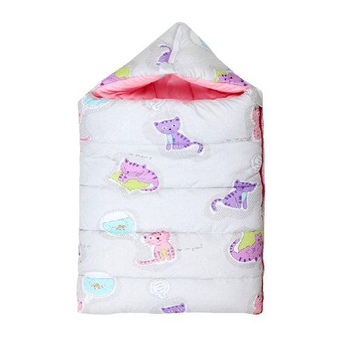 100% coton bébé Sac de couchage, de moins de 1 ans, chat d'Impression