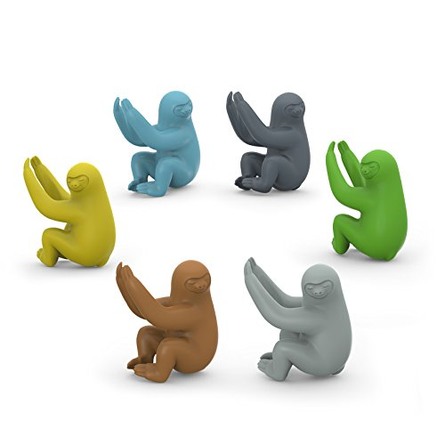 Fred SOCIAL CLIMBERS Sloth Drink Markers, Set of 6 - 5178682