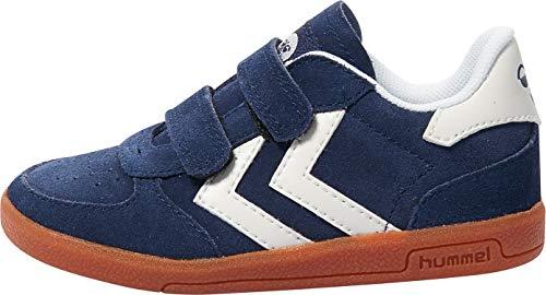 hummel Unisex-Kinder Victory Infant Sneaker, Blau (Peacoat), 19 EU
