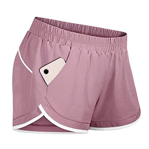 OUICE Homme Damen Tights Shorts Sport Kurze Hosen - Laufshorts Fitness Yoga Leggings