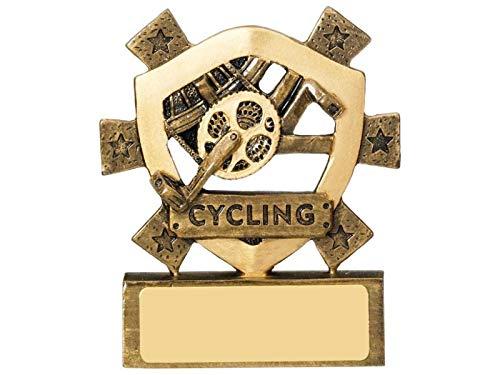 Ciclismo Trofeo Award Scuole 3,25' 80mm, incisione gratuita RM581