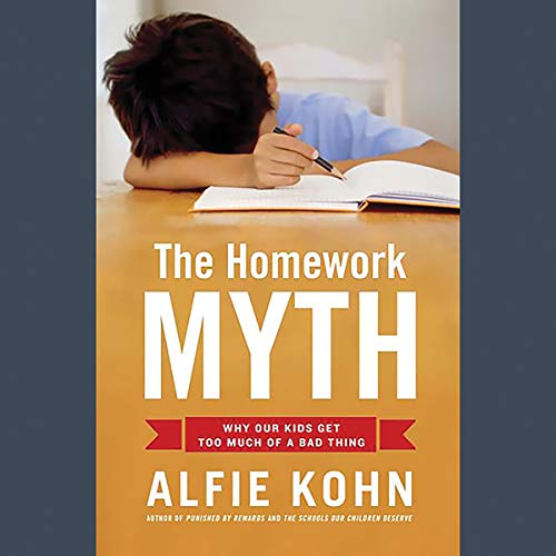 The Homework Myth audiobook cover art