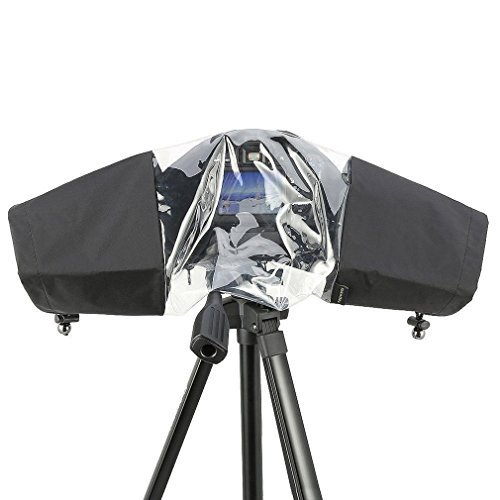 TraveT Rainproof Rain Cover Camera Protector for Canon Nikon and Other Digital SLR Cameras
