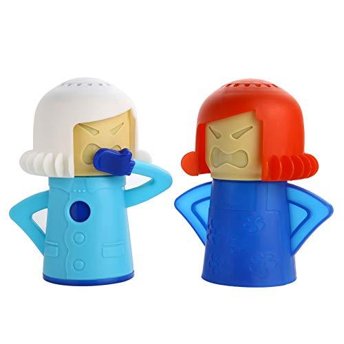 Siveit Angry Mama Cottura a vapore Mamma Forno a microonde Mamma e Mamma Fredda Pulizia Frigorifero e Congelatore Pulizia per Cucina (confezione da 2)