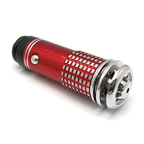 vap26 ambientador de Aire 3 del ionizador del ozonizador del generador del ozono del purificador del Aire del Coche(Rojo)
