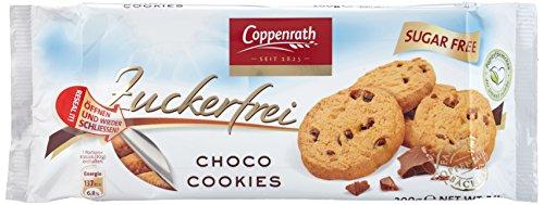 Coppenrath Choco Cookies zuckerfrei, 7er Pack (7 x 0.2 kg)
