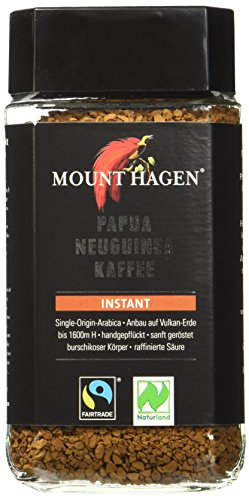 Mount Hagen Instant Fair Trade, 6er Pack (6 x 100 g) - Bio