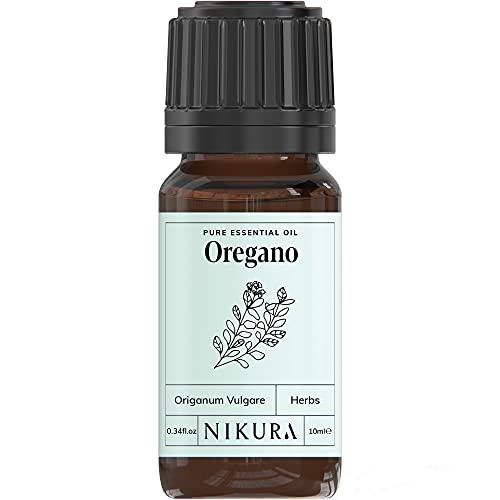 Nikura   Oregano Essential Oil - 10ml - 100% Pu