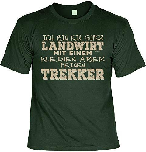 Laiberl Motief Kerstmis T-shirt super boer met een kleine maar fijne trekker boer man boer cadeau-idee boer boer boer boer boer cadeau voor boer Laiberl