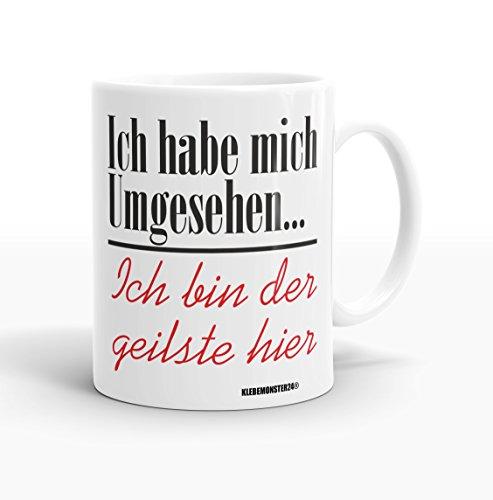 Tasse mit Spruch Weiß