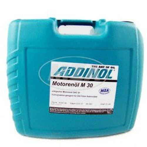 4,12€/l ADDINOL M30 OLDTIMER - MOTORENÖL (SAE Klasse 30 // Viskosität 11,0) mineralisch, 20 L Kanister