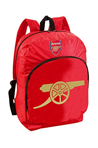 Forever Collectibles Kids Arsenal Foil Print Backpack-Multi-Colour, 41cm
