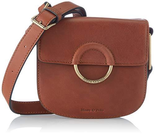 Marc O'Polo Damen Umma CROSSBODY BAG S, Authentic Cognac, OS