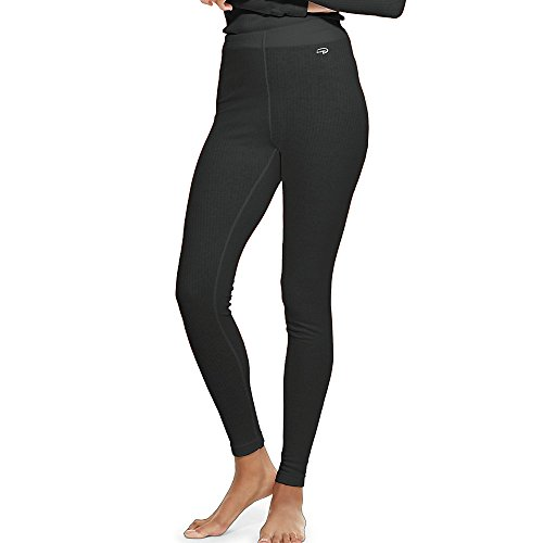 Duofold by Champion Thermals Women's Base-Layer Underwear_Black_L