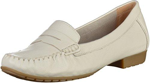 CAPRICE 9-24256-20 Damen Slipper Weiß, EU 37