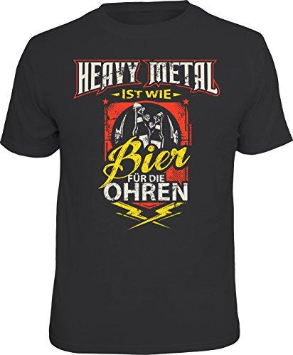 T-Shirt: Heavy Metal ist wie Bier für die Ohren Größe XL