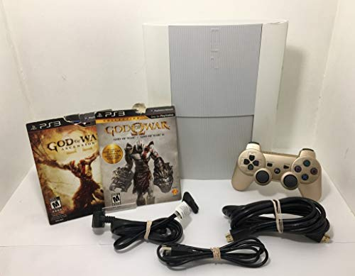 Sony PlayStation 3 500GB Limited Edition Console | White [video game]