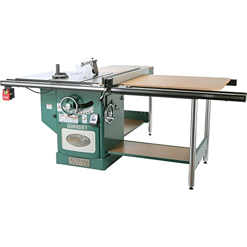 """Grizzly Industrial G0605X1-12"""" 5 HP 220V Extreme Table Saw"""