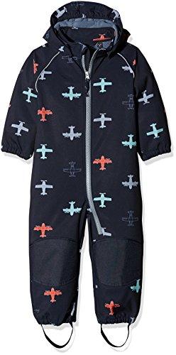 NAME IT Baby-Jungen NMMALFA Softshell Suit AIRPLAIN FO Schneeanzug, Mehrfarbig (Sky Captain Sky Captain), 80