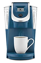 retro coffee machines - blue