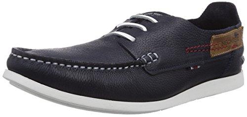 Daniel Hechter HD17071T, Chaussures Bateau Homme - Bleu - Bleu Marine (423), 44 EU