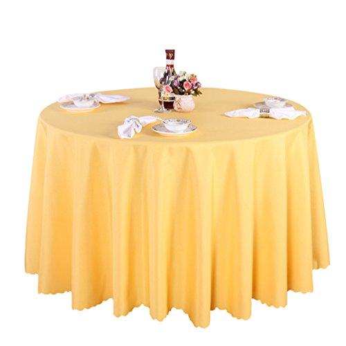 Heheja Albergo Tovaglia Hotel Tovaglia Ristorante Table Tovaglie Colore Puro Oro 160cm