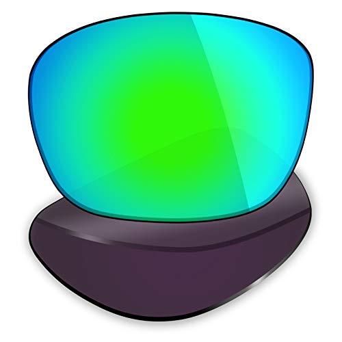Mryok Lentes de repuesto para Spy Optic Balboa - Opciones, Polarizado - Verde esmeralda, Talla única