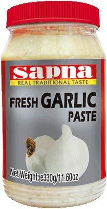 Sapna - Pasta de jengibre y ajo (330 g/1 kg), varios tamaños