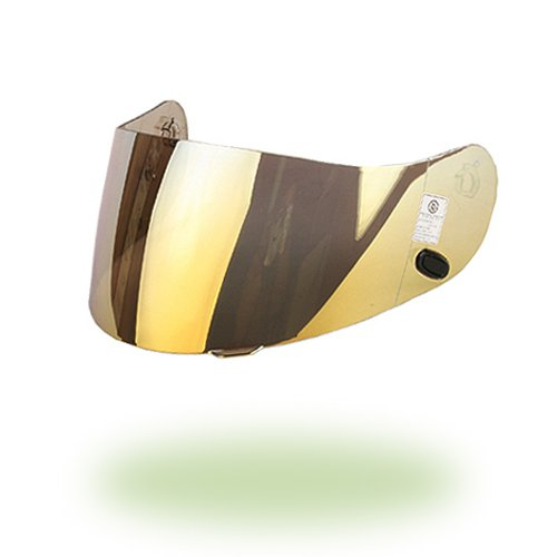 HJC hj-09 Shield Visier Gold Mirror Shield für ac-12, cl-15, cl-16, cl-17, cl-sp, cs-r1, cs-r2, fs-10, fs-15, is-16, fg-15