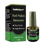 Magic Remove Gel,Burst Magic Remove Ongles Gel UV Magique Soak Off Nail Art Clean Soak Off Gel