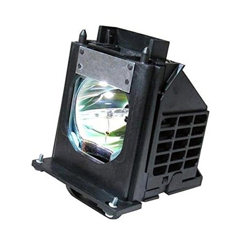 Mitsubishi WD65833 Rear Projector TV Assembly with OEM Bulb and Original Housing
