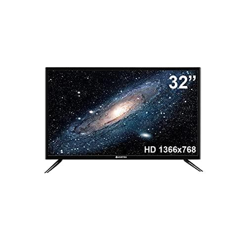 TV 32 Pulgadas Vortex LED-V32ZS50DC | Panel LED con Resolución HD 1366x768pp | Ci+, DVBT/T2 | Conexión HDMI, USB.