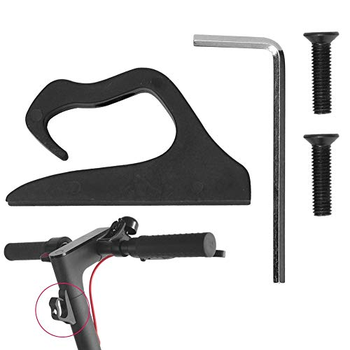 Jadeshay Scooter-Aufbewahrungstasche, Universal Electric Scooter hängender Beutel-Aufhänger-Haken Zubehör for Xiaomi M365 M187 Pro