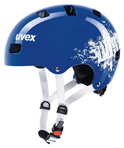 Uvex Kinder Kid 3 Fahrradhelm, Blau (royal blue dust), 55-58 cm