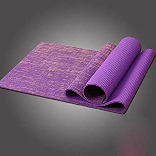 AINIYF Natural Jute Yoga Mat, Extra Long 68.9inches, Extra Thick 8 Mm, Non Slip, for Any Type of Yoga, Pilates, Or Exercis...