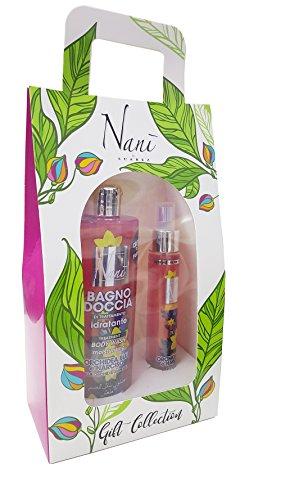 Pack bagnodoccia Hydratant et eau parfumée à l'orchidée et Narciso