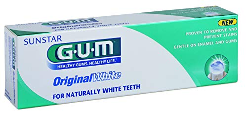 Gum Original White Tandpasta, 75ml