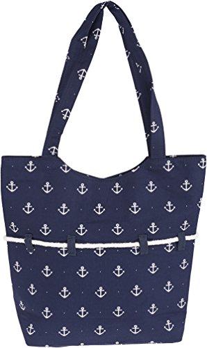 Küstenluder SIENA Sailor Anchor ROPE Anker Punkte TASCHE Rockabilly - 4