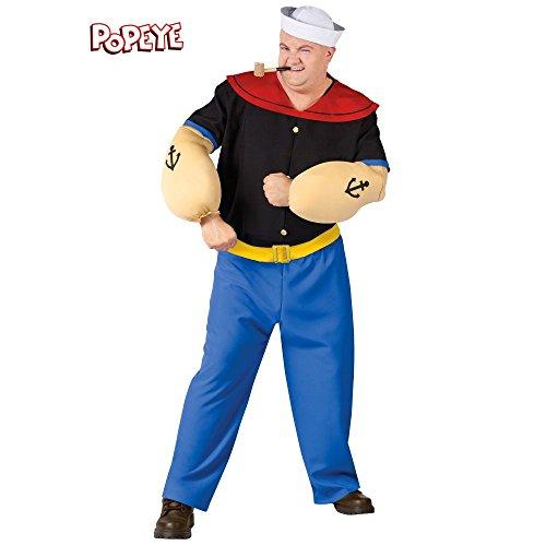 Popeye Kostuum voor mannen grote maat