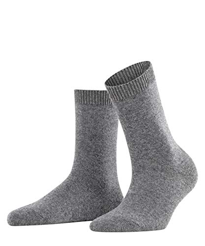 FALKE Damen Socken, Cosy Wool W SO-47548, Grau (Grey Mix 3399), 35-38