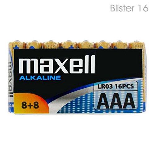 Maxell LR03 AAA Micro Alkaline Batterien (16er Pack)