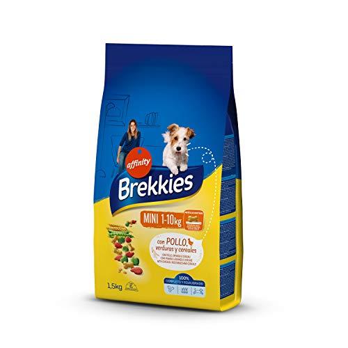Brekkies Pienso para Perros Mini con Pollo - 1500 gr
