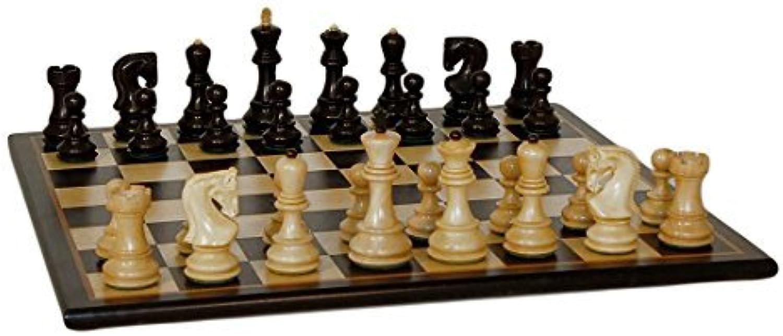 schwarz Russian Blk Birdseye Maple Brd by WorldWise Chess