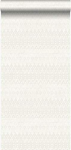 behang dierenhuid structuur wit - 347351 - van Origin - luxury wallcoverings