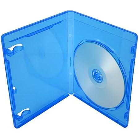Juego de 5 cajas de almacenamiento Blu-Ray de 11 mm para un solo disco con logotipo de Dragon Trading®